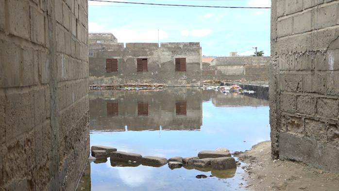 SAINT-LOUIS / PLUIES DILUVIENNES : Plusieurs quartiers présentement sous les eaux stagnantes.