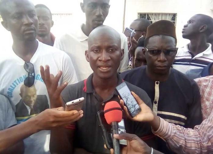 KOLDA / Seydou Fall, secrétaire général de l'Ujtl : « Il n'y a pas de guéguerre au Pds. Karim reste notre candidat… »