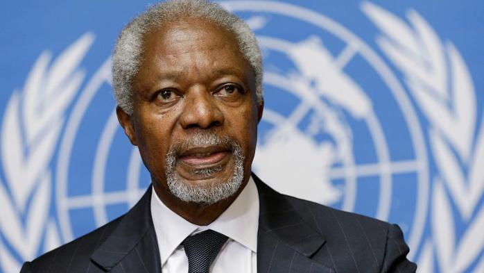 Kofi Annan ou l'Afrique à la manoeuvre au Palais de verre de Manhattan