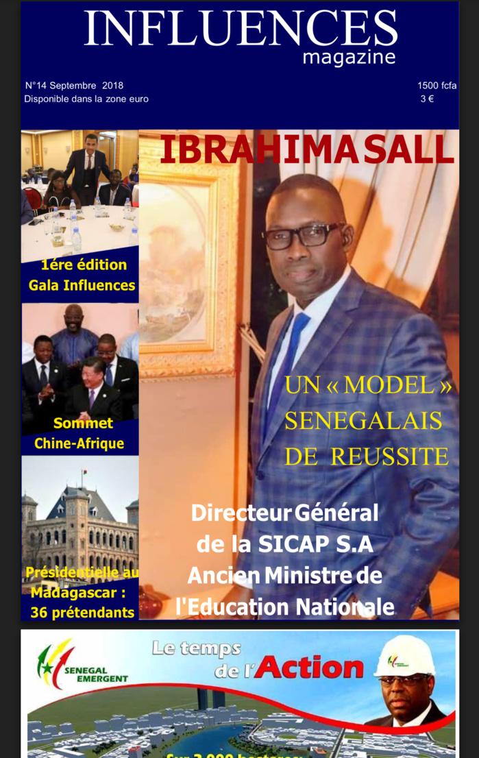Ibrahima Sall, Directeur général de la Sicap : «Un modèle Sénégalais de réussite» (PORTRAIT ISMAELA BADJI INFLUENCE MAGAZINE)