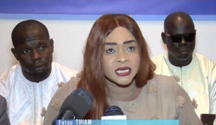 Fatou Thiam recadrée par les jeunes du Mouvement Karim Président