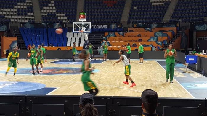 Basket : Dix Lionnes ont pris part à l'entraînement à la veille de Sénégal/Chine