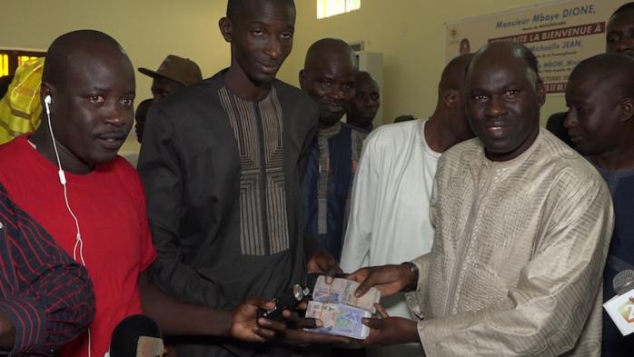 Navétanes 2018 : Le Maire de Ngoudiane Mbaye Dione gâte les ASC de sa commune