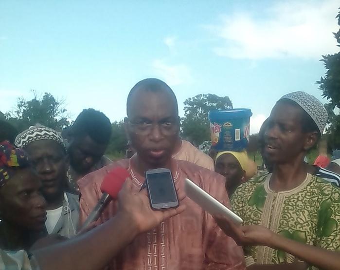 Goudomp : Moussa Baldé, DG de la SODAGRI, visite les périmètres rizicoles du département
