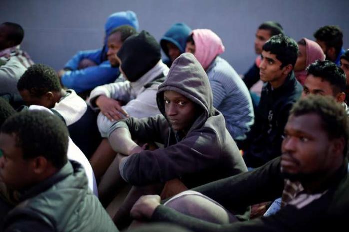 Immigration clandestine : 120 migrants de retour de la Libye