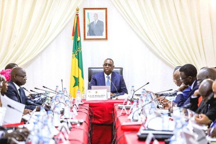 Conseil des ministres exceptionnel ce vendredi