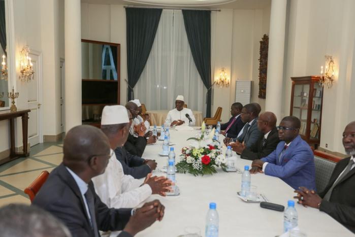 Palais : L'Ofnac a remis son rapport d'activités 2016 au Président Macky Sall