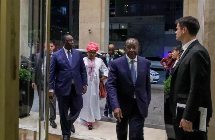 ARGENTINE : Les images de l'arrivée du président Macky Sall à Buenos Aires et le diner du CIO