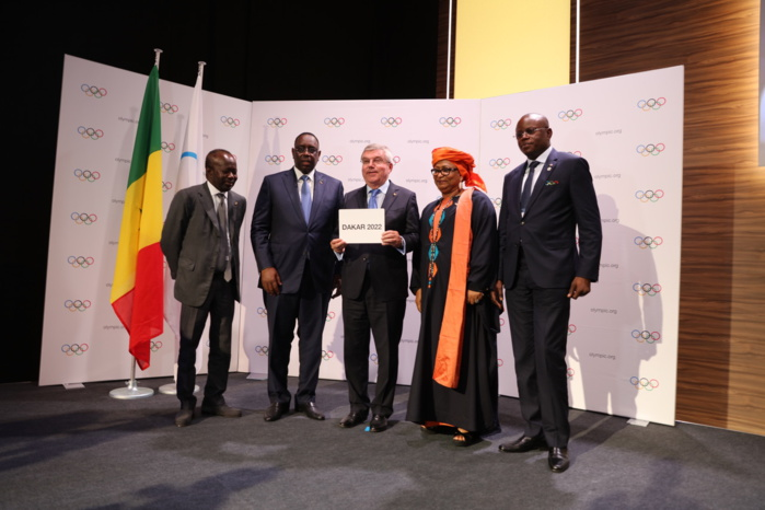Message de Son Excellence Monsieur Macky Sall, Président de la République du Sénégal, devant le Comité international olympique
