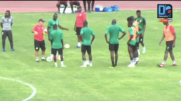 Stade LSS : 9 Lions au premier galop d'entraînement à 5 jours du match Sénégal/Soudan