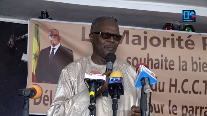 """Ousmane Tanor Dieng à Tivaouane : """" Ce sont les alliances qui gagnent les élections..."""""""