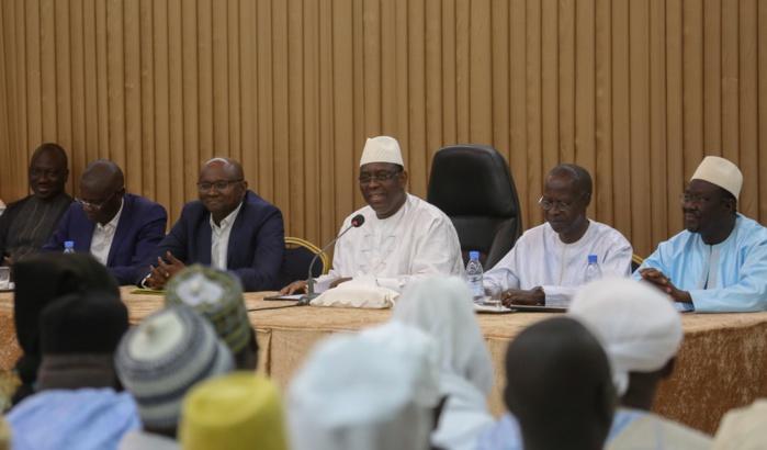AUDIENCE AU PALAIS : Macky Sall reçoit le maire Moussa Sy
