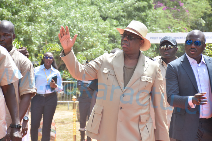 Mbour : Macky Sall lance le projet de développement du tourisme et des entreprises.