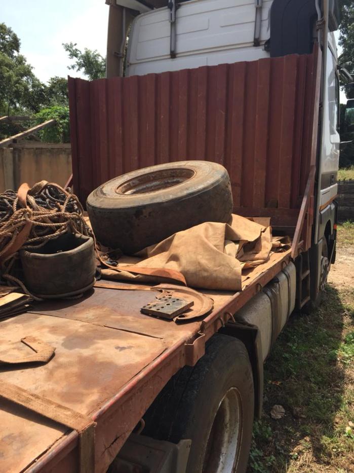 Saisie de 40 kg de chanvre indien par la Douane Sénégalaise à la frontière du Mali