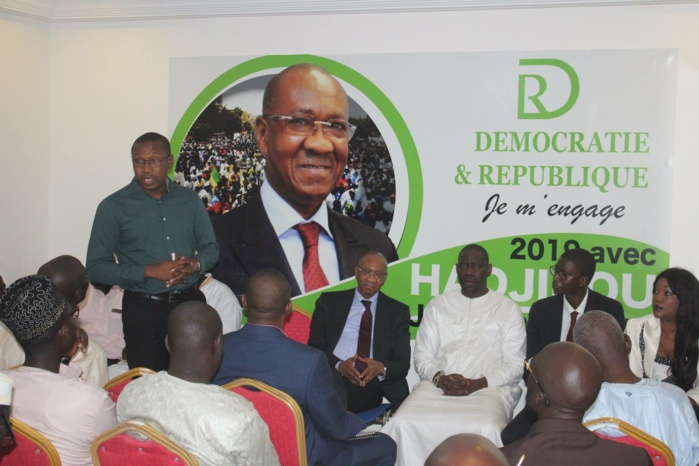 Coalition Hadjibou 2019 : La coordination des cadres installée.
