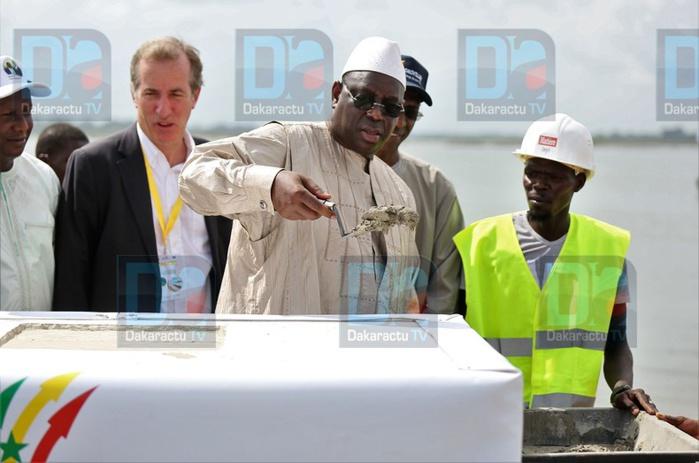 (Images) Céremonie de lancement des travaux de la Boucle du Boudier , du pont de Marsassoum et de l'hopital régional de Sédhiou