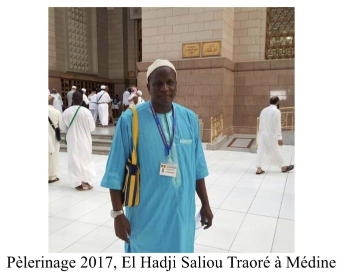 Hommage à un Homme Honnête El Hadji Saliou TRAORÉ