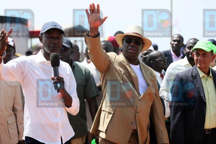 (Images) Le Président Macky Sall en visite au DAC de SEFA