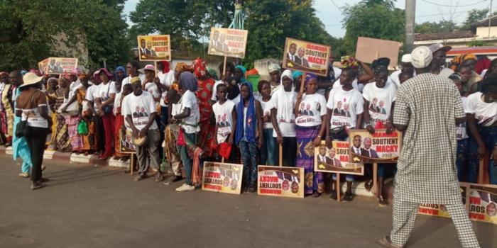 Mamina Daffé bat le record de la mobilisation à Bignona et le Président Macky SALL est satisfait du DAC de Séfa