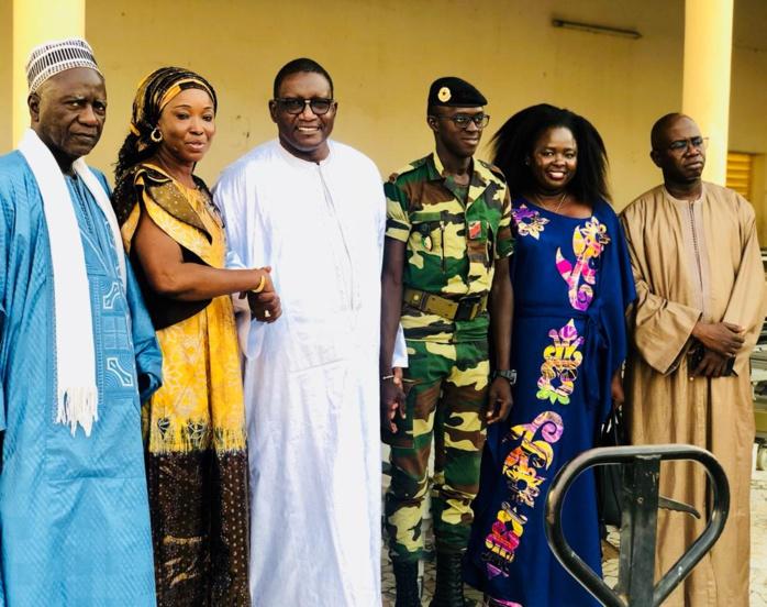L'ambassadeur Bassirou SÈNE offre du matériel médical à Touba : Le Khalife Général le bénit, la population le remercie!