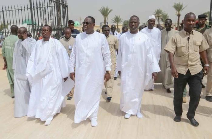 Construction du mausolée de Serigne Sidy Makhtar Mbacké : Le président Macky Sall à Gouye Mbinde