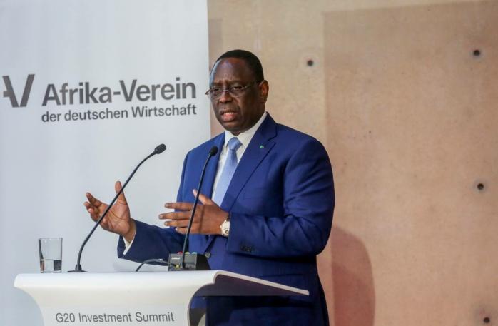 """Accusé de faire la part belle aux investisseurs étrangers et d'emprisonner ses adversaires politiques, Macky Sall sort de ses gonds : """"Le Sénégal n'est pas là pour recevoir des leçons (...) Je suis un démocrate"""""""