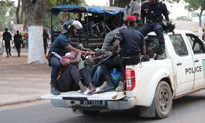Opération de sécurisation :  Tivaouane passée au peigne fin par la police à l'approche du Gamou
