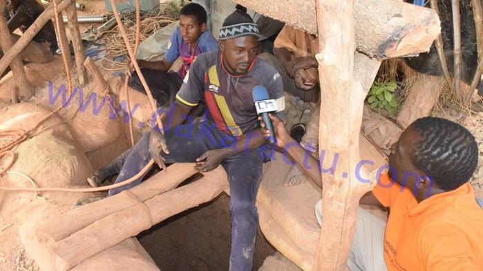 Urgent /Khossanto : Un éboulement d'un site d'orpaillage a fait un mort et plusieurs portés disparu