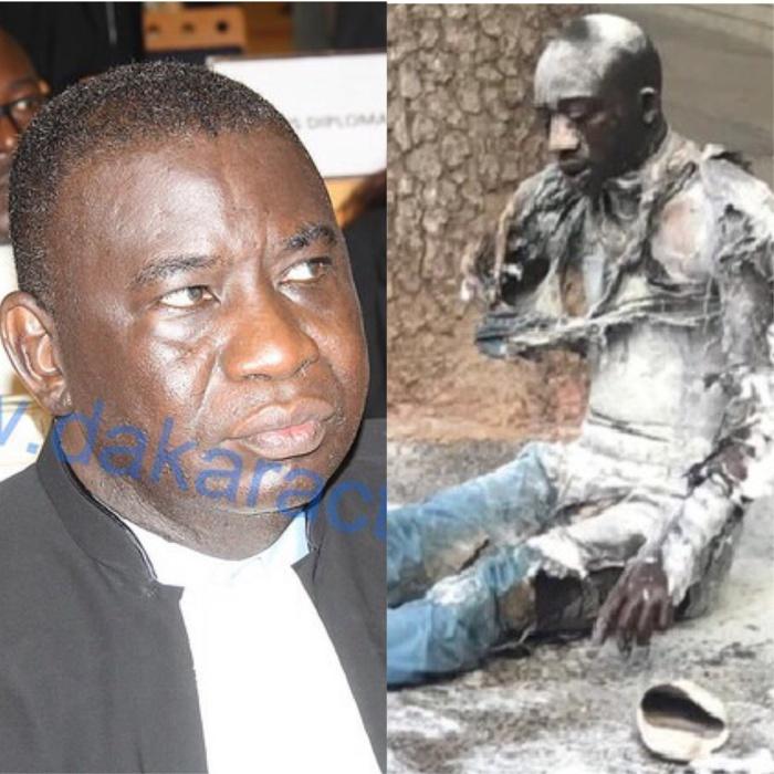 Immolé devant le Palais, Cheikh Tidiane, l'invalide, raconté par Me Assane Dioma Ndiaye