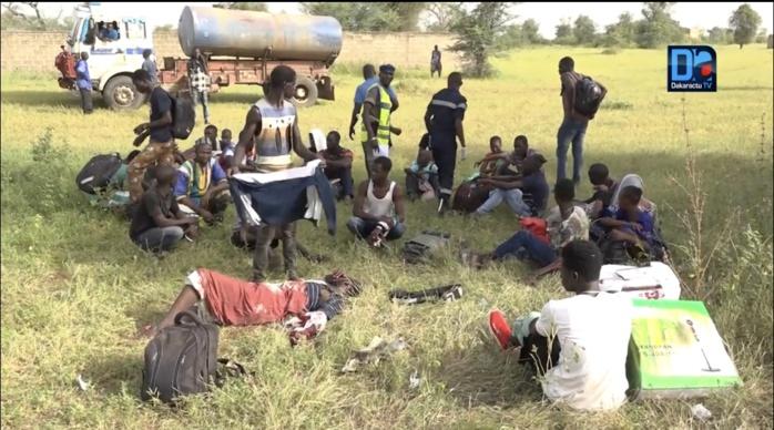 Collision entre un camion et un mini-car sur la route de Thiès : 4 morts et 9 blessés