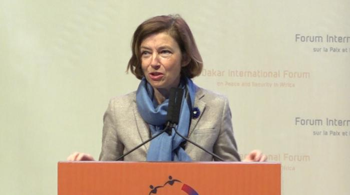 """Forum de Dakar : """" Les conditions d'un meilleur développement ne peuvent être réunies sans … """" (Florence Parly, ministre français des Armées)"""