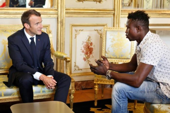 FRANCE : Mamadou Gassama officiellement naturalisé