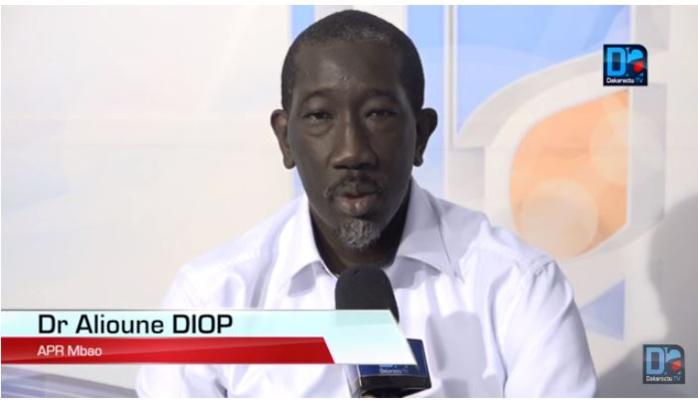 Dr Alioune Diop sur la réunion de la CCR : « Je suis déçu, je n'ai pas vu de changement par rapport à…»