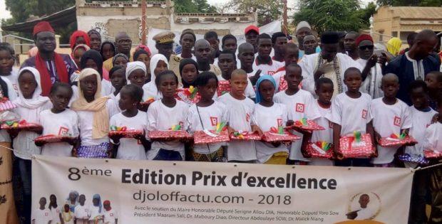 PRIX D'EXCELLENCE DJOLOFFACTU.COM : Les meilleurs élèves de la commune de Mbeuleukhé honorés