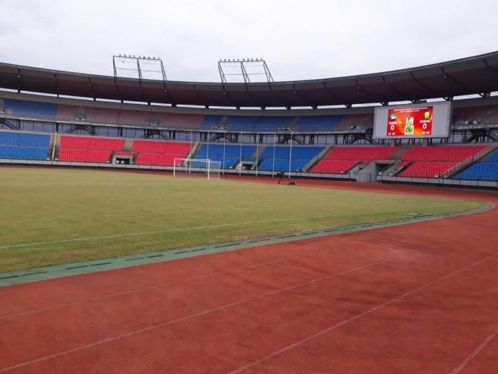 Guinée Équatoriale/Sénégal : La pelouse de Bata prête à accueillir les Lions