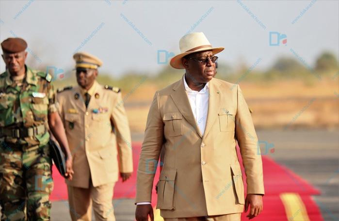 Kédougou : Le président Macky Sall attendu à Mako ce matin.