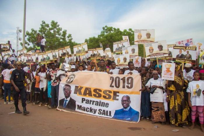 Tambacounda : le PR Macky SALL en roue libre au Sénégal oriental (images)