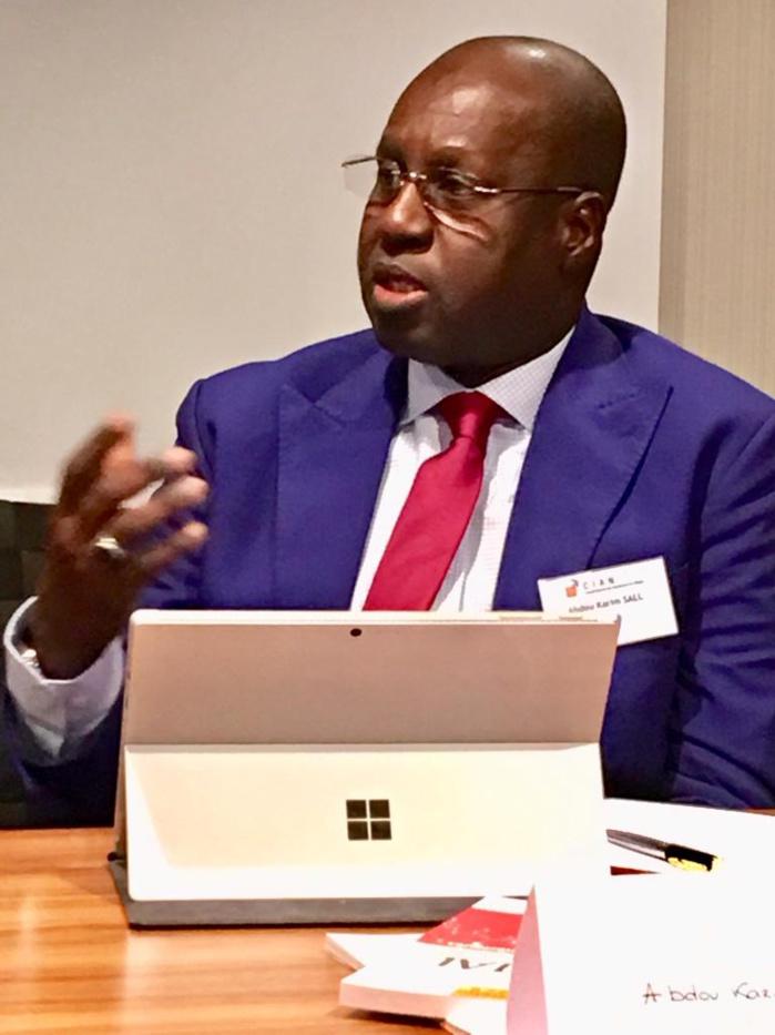 Conseil français des investisseurs en Afrique : Abdou Karim Sall étale ses talents de régulateur à Paris.