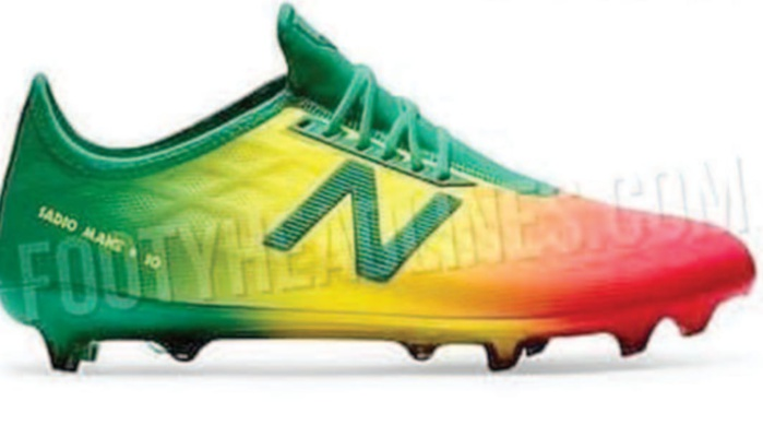 Les nouvelles chaussures de Sadio Mané