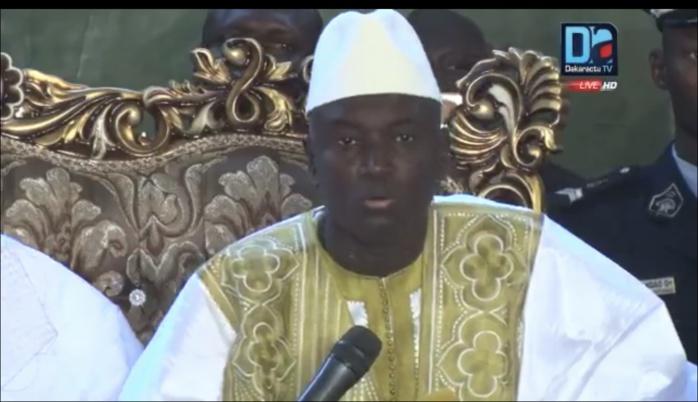Cérémonie officielle Ndiassane 2018 : Aly Ngouille Ndiaye évite le piège du discours politique, demande au khalife des prières pour le Sénégal, et invite l'opposition à l'apaisement