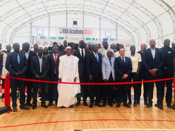 Amadou Gallo Fall réunit le gotha du basket-ball à la cérémonie d'inauguration d'un centre d'entraînement de NBA Africa