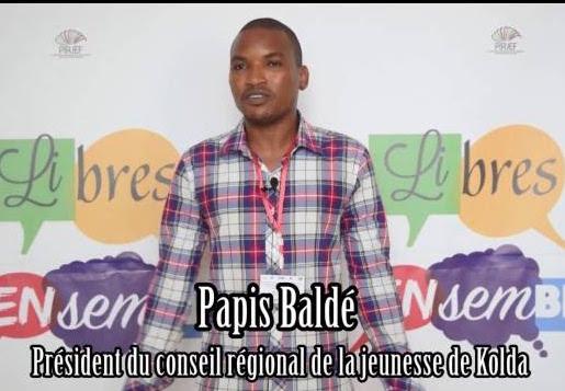 KOLDA / Papis Baldé : « Nous nous félicitons de notre participation au congrès d'investiture du candidat Macky et nous travaillons pour sa réélection… »