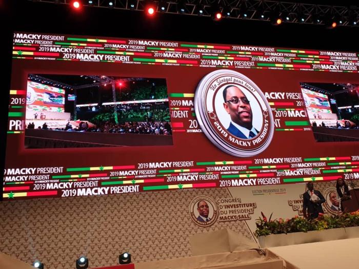 Investiture de Macky Sall à Dakar Arena : Les images de l'intérieur de la salle
