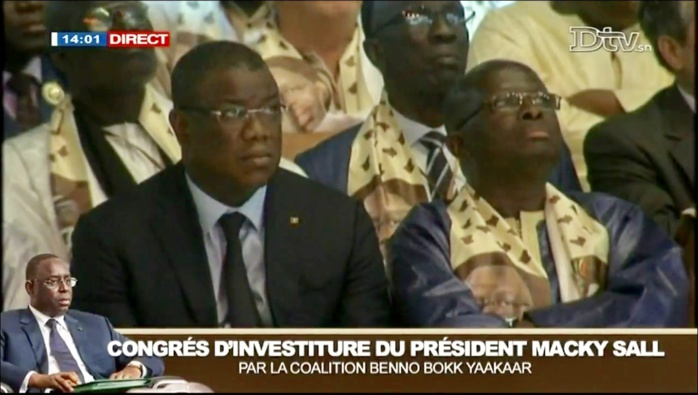 Investiture de Macky Sall : Abdoulaye Baldé et Modou Diagne Fada sur place