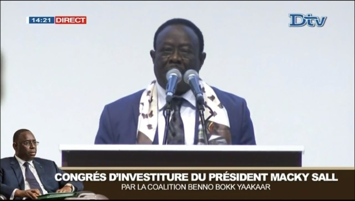 Mbaye Ndiaye à Macky Sall : «Nous allons vous réélire ensemble comme on a fait en mars 2012»