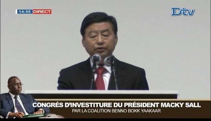 Congrès d'investiture : Macky Sall félicité par le Pati communiste chinois