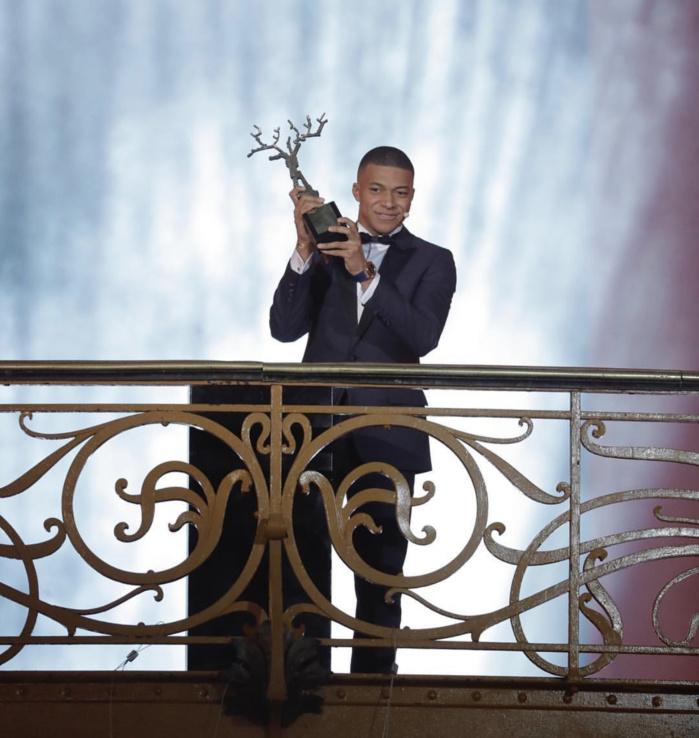 Trophée Kopa France Football 2018 : Kylian Mbappé (PSG) couronné