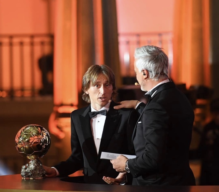 Luka Modric (Real Madrid) remporte le Ballon d'Or France Football 2018