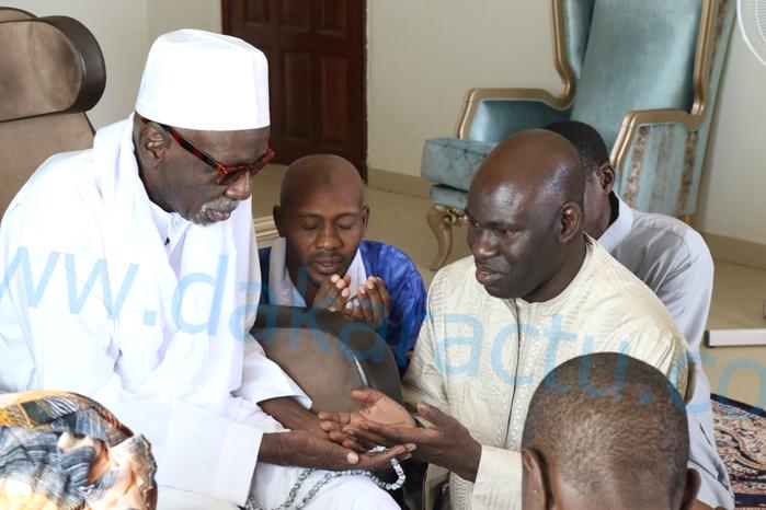 Le Maire de Ngoundiane Mbaye Dione en visite à Ndiassane