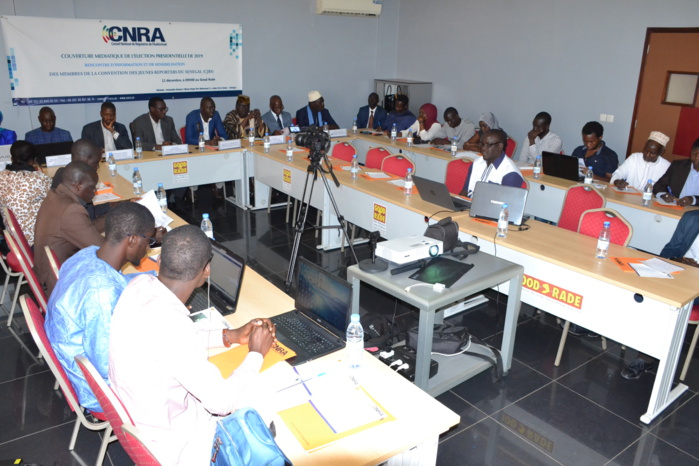 CNRA : Rencontre et sensibilisation pour la couverture médiatique de la présidentielle de 2019.